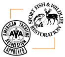 Sport Fish & Wildlife Restoration Approved American Yachting Association Approved